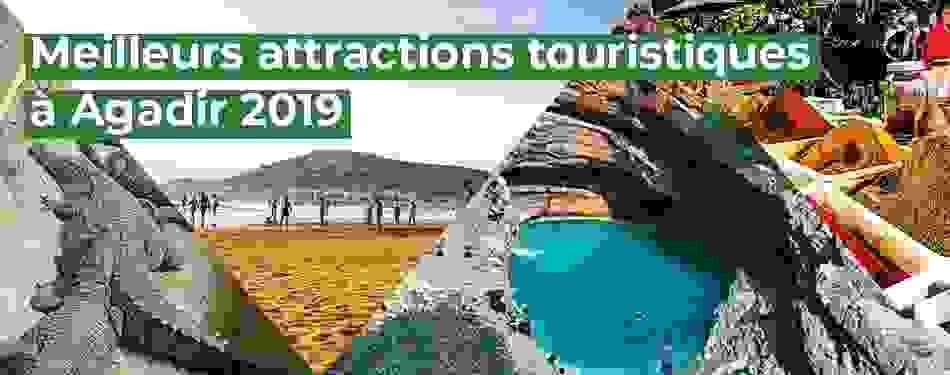 meilleurs, attractions, touristiques, agadir, maroc