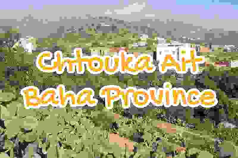 province, chtouka, ait, baha, maroc