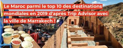 maroc, top, destinations, mondiales, 2019, trip, advisor, ville, marrakech
