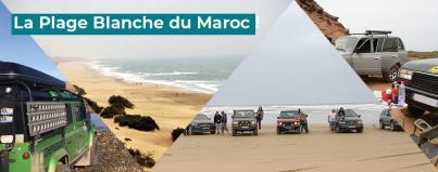 the white beach of morocco