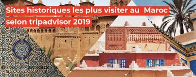 most frequently visited historical sites according trip advisor 2019