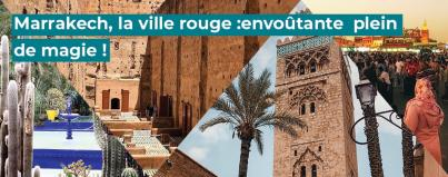 marrakech the red city bewitching full of magic