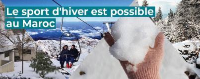 sport, hiver, tourisme, maroc