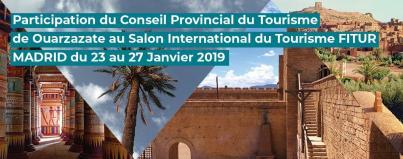 participation, cpt, ouarzazate, salon, international, tourisme, fitur, madrid