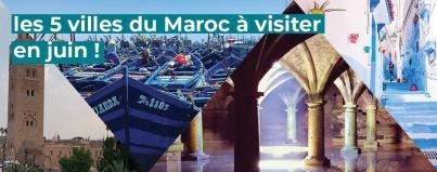 villes, visiter, maroc