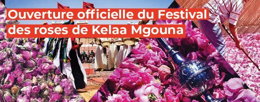 festival des roses kelaa mgouna ouarzazate maroc
