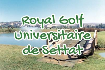 royal, golf, universitaire, settat, maroc