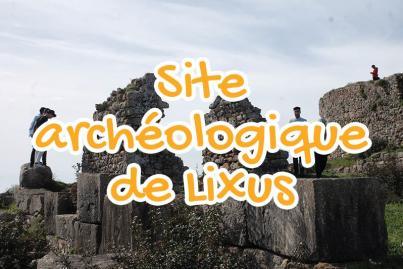 site, archeologique, de, lixus, larache, maroc