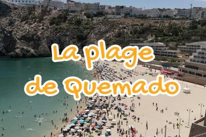 La plage de Quemado