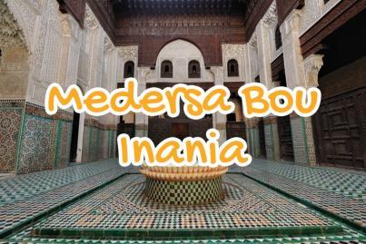 medersa, bou, inania, meknes, morocco