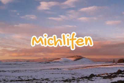 michlifen, station, ski, ifrane, maroc