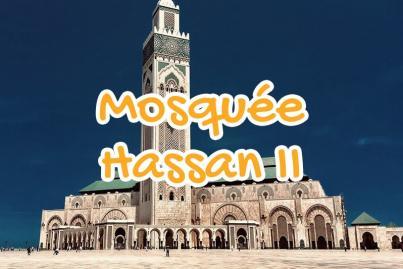 mosquee, hassan, 2, casablanca, maroc