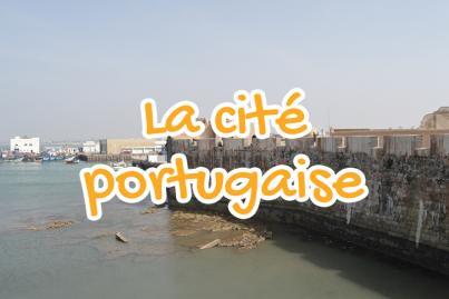portuguese, city, el, jadida, morocco