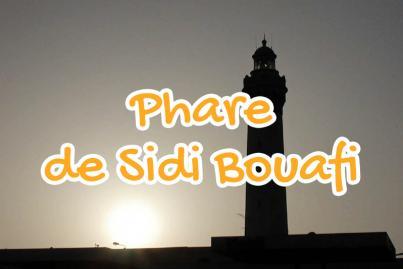 sidi, bouafi, lighthouse, el, jadida, morocco