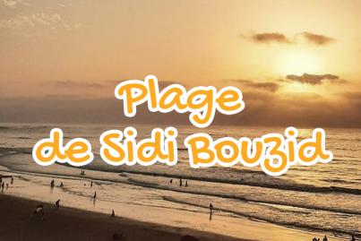 sidi, bouzid, beach, el, jadida, morocco