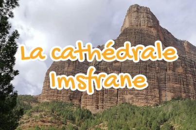 cathedrale, de, montagne, mastfrane, beni, mellal, maroc