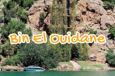 barrage, bin, el, ouidane, beni, mellal, maroc