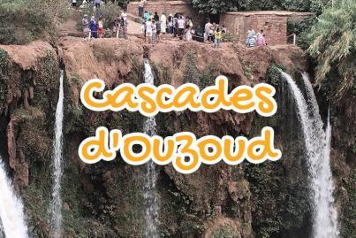 cascades, ouzoud, beni, mellal, maroc