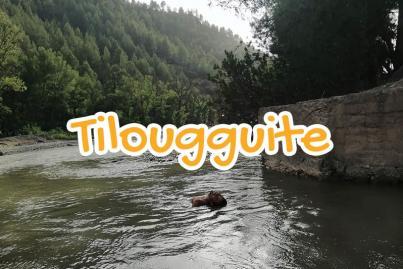 village, tilouguite, beni, mellal, maroc