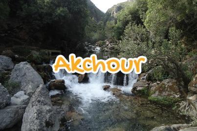 akchour, chefchaouen, morocco