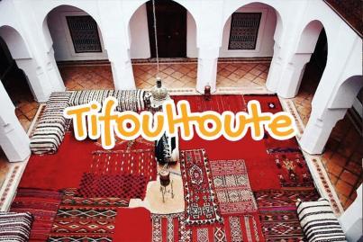 kasbah, de, tifoultoute, ouarzazate, maroc
