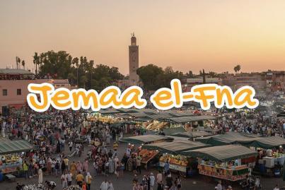 place, jemaa, el, fna, marrakech, maroc