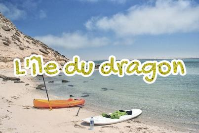 ile, du, dragon, maroc