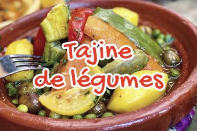 Tajine de légumes Traditionnelle