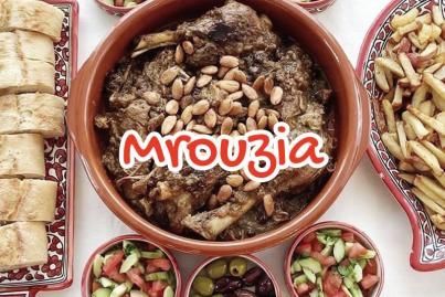 Mrouzia Tajine d'agneau aux raisins secs