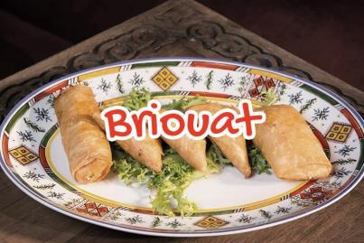 Shrimp briouat