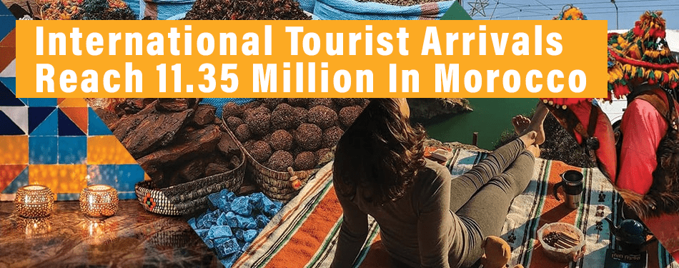 international tourist arrivals morocco