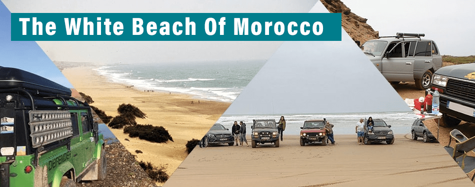the white beach of morocco