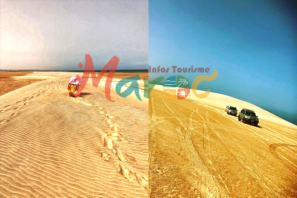 dune blanche dakhla morocco travel destination