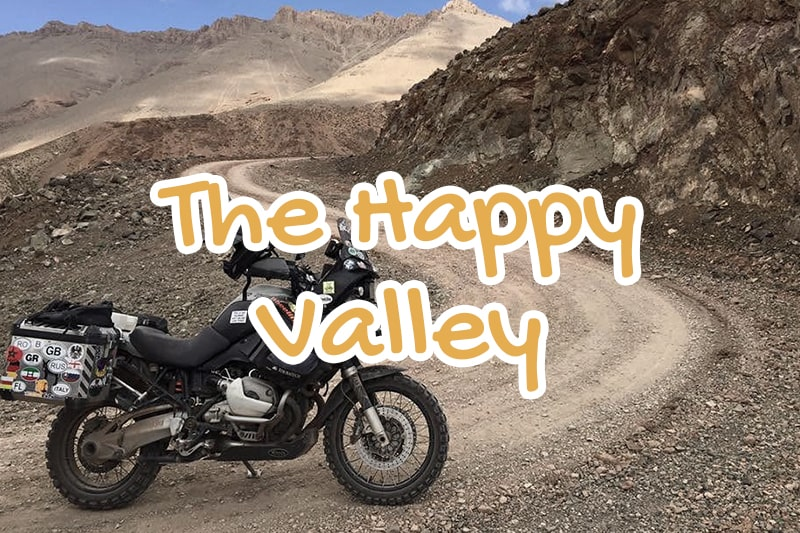 happy, valley, azilal, morocco